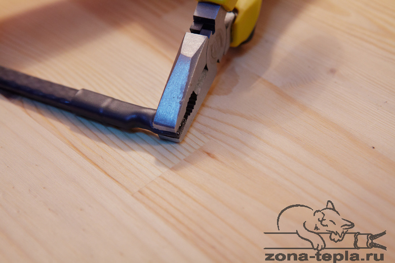 Полностью герметизируем конец Саморегулирующегося нагревательного кабеля