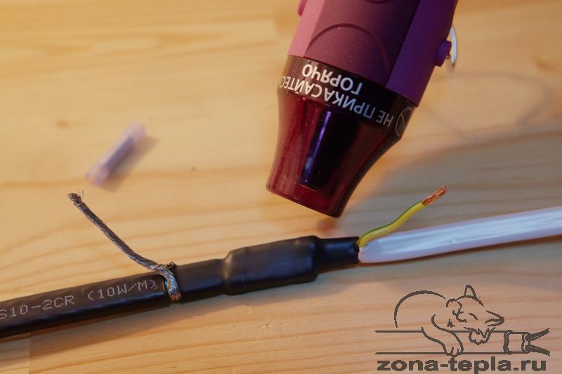 Стараемся не перегреть саморегулирующийся нагревательный кабель