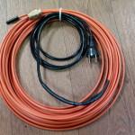 Греющий кабель внутри трубы-готовый комплект