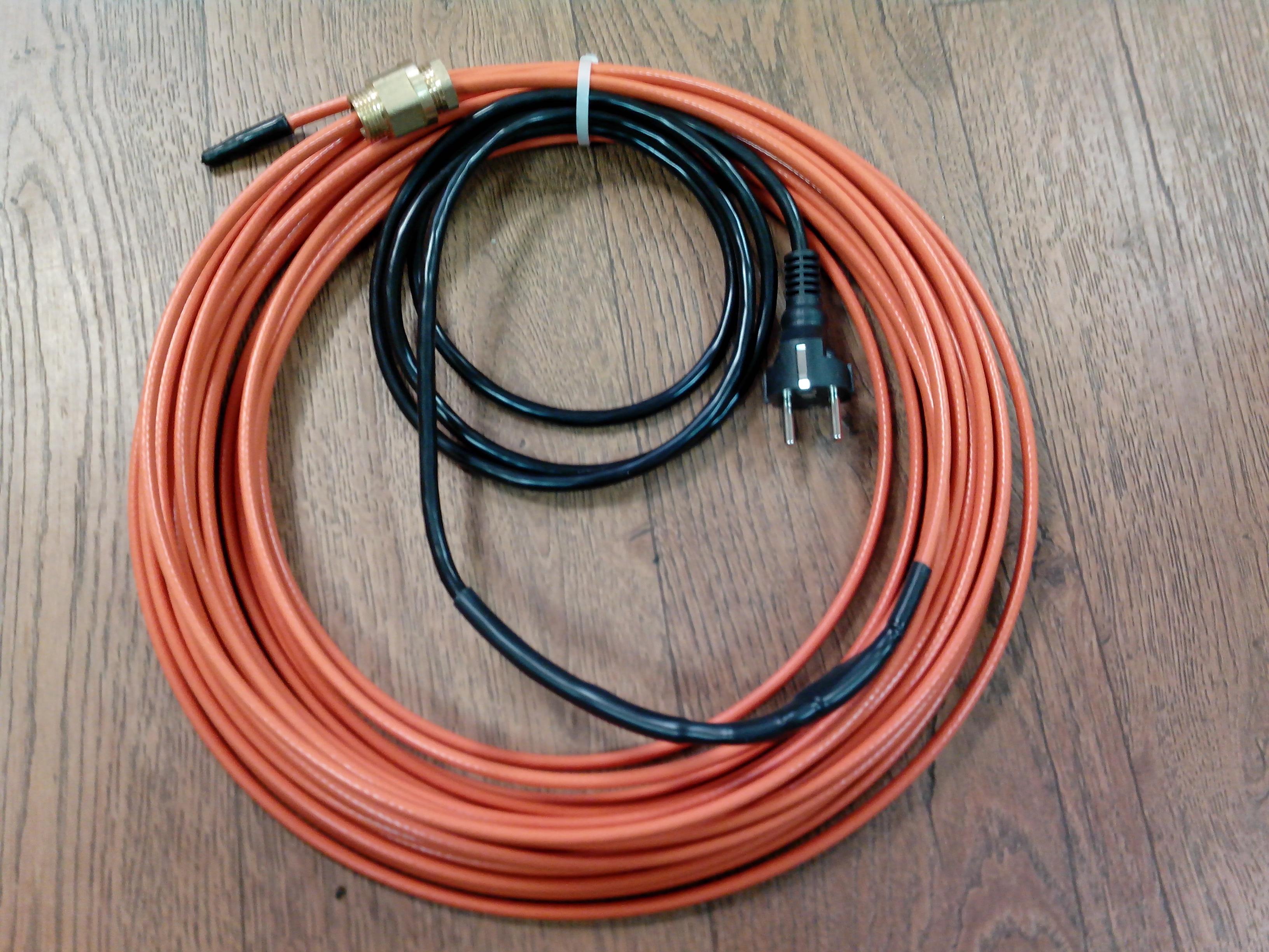 прокладка саморегулирующегося нагревательного кабеля цена