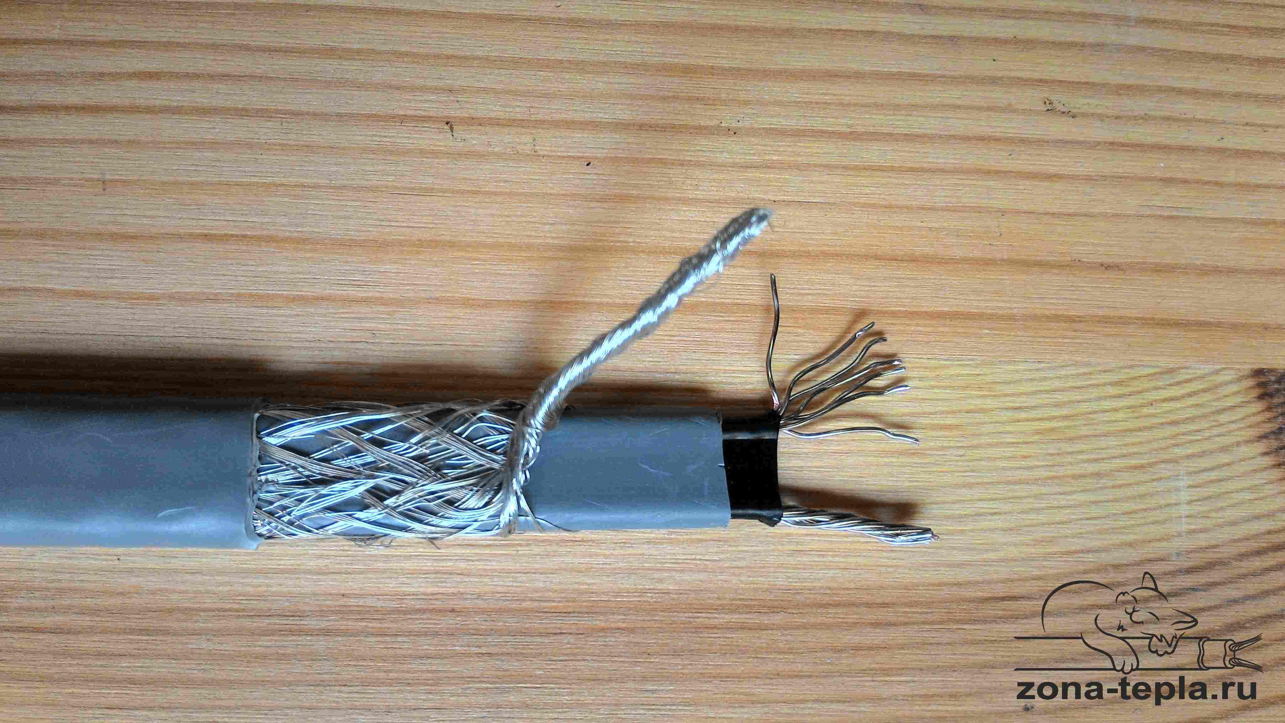Греющий саморегулирующийся кабель Lavita GWS 16-2CR