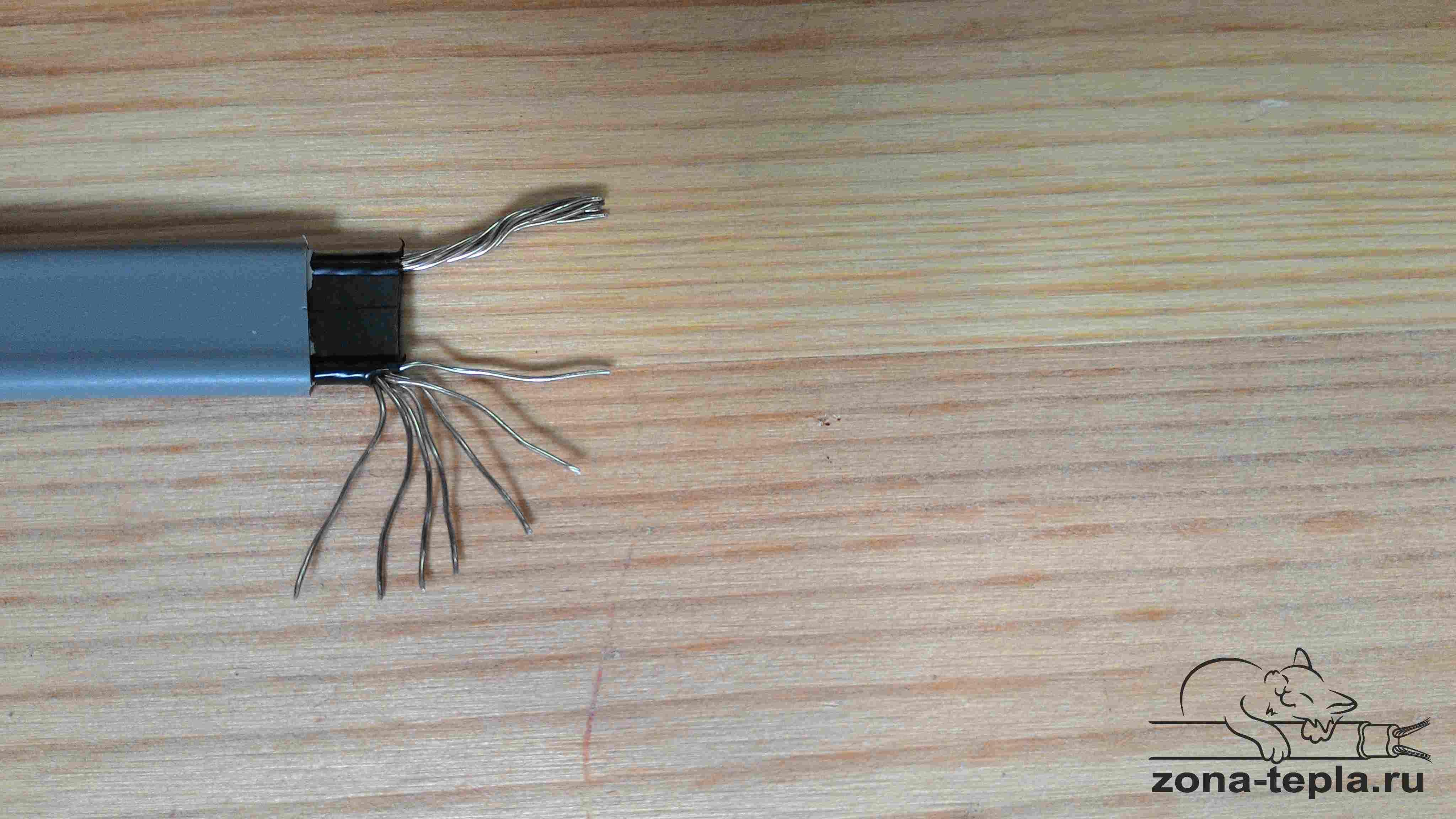 Саморегулирующийся кабель для обогрева труб Lavita GWS 30-2