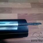 Обогрев труб греющим кабелем -труба большого диаметра