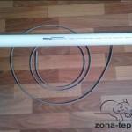 монтаж греющего кабеля на водопровод