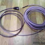 Готовый комплект греющего кабеля