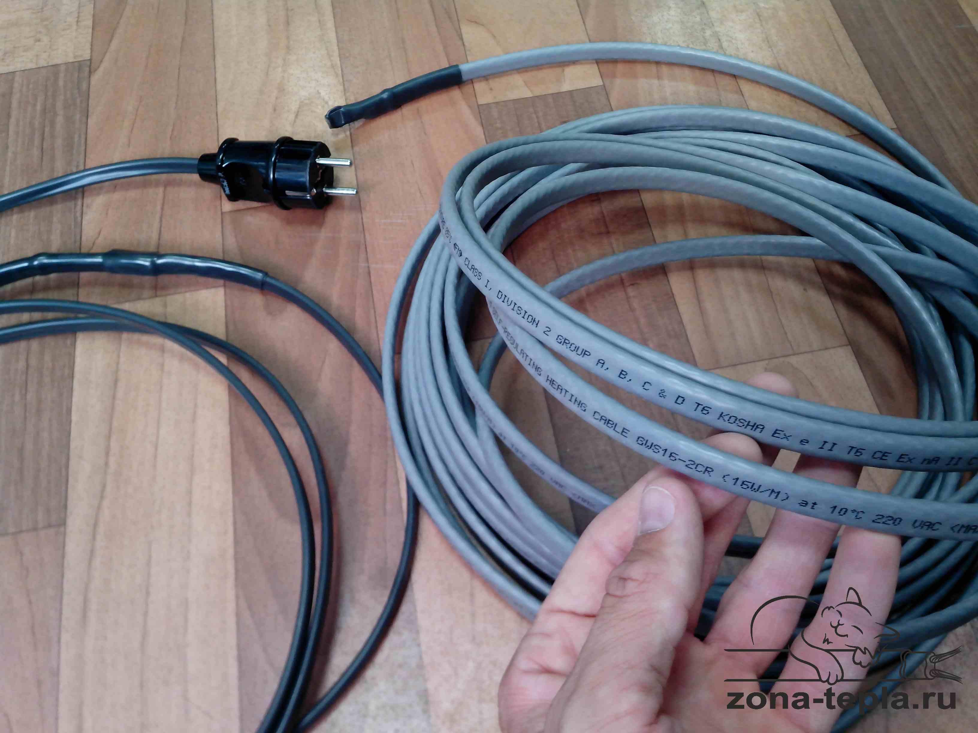 Комплект греющего кабеля Lavita GWS 16-2CR