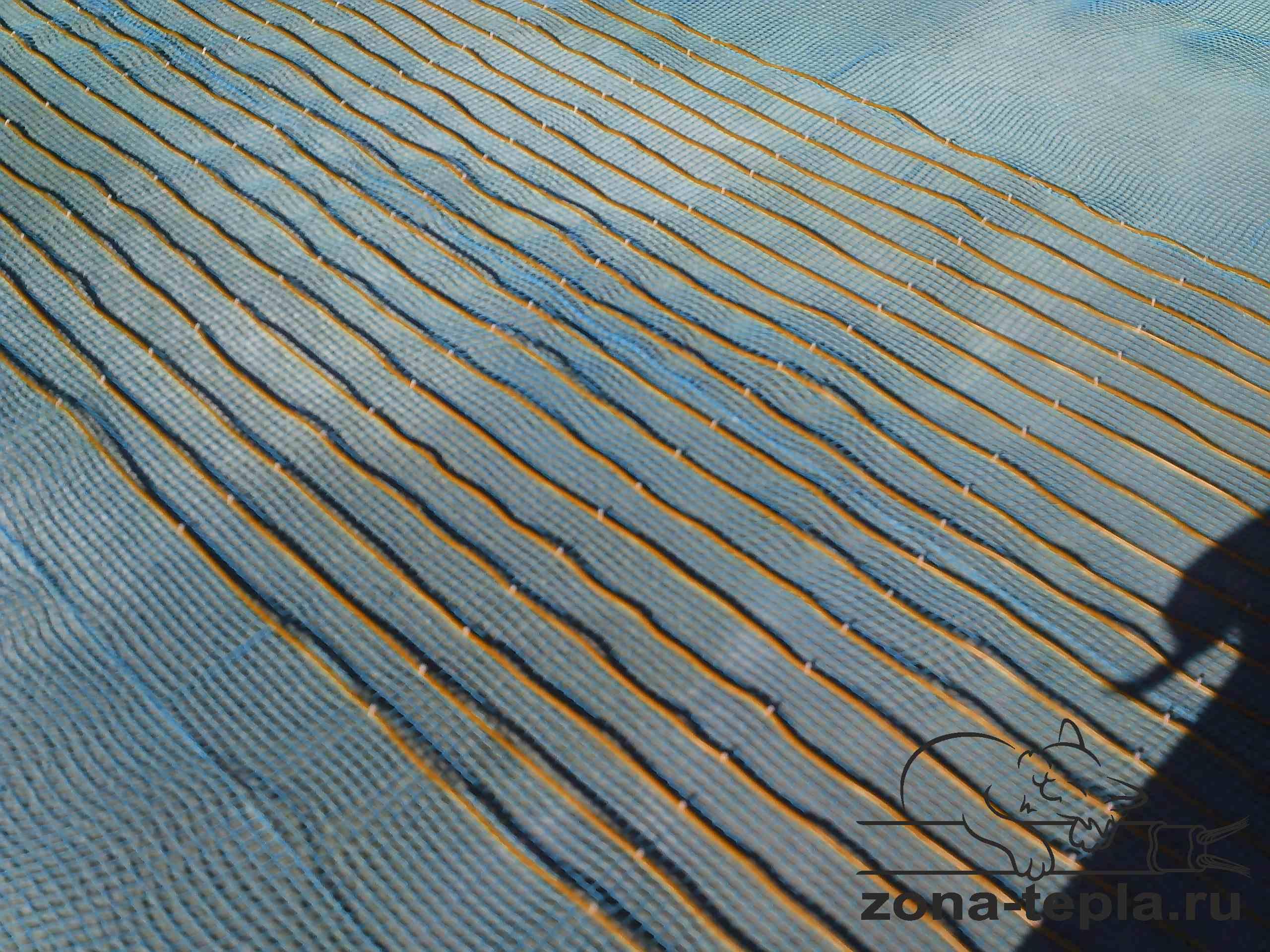 обогрев открытых площадок резистивным греющим кабелем