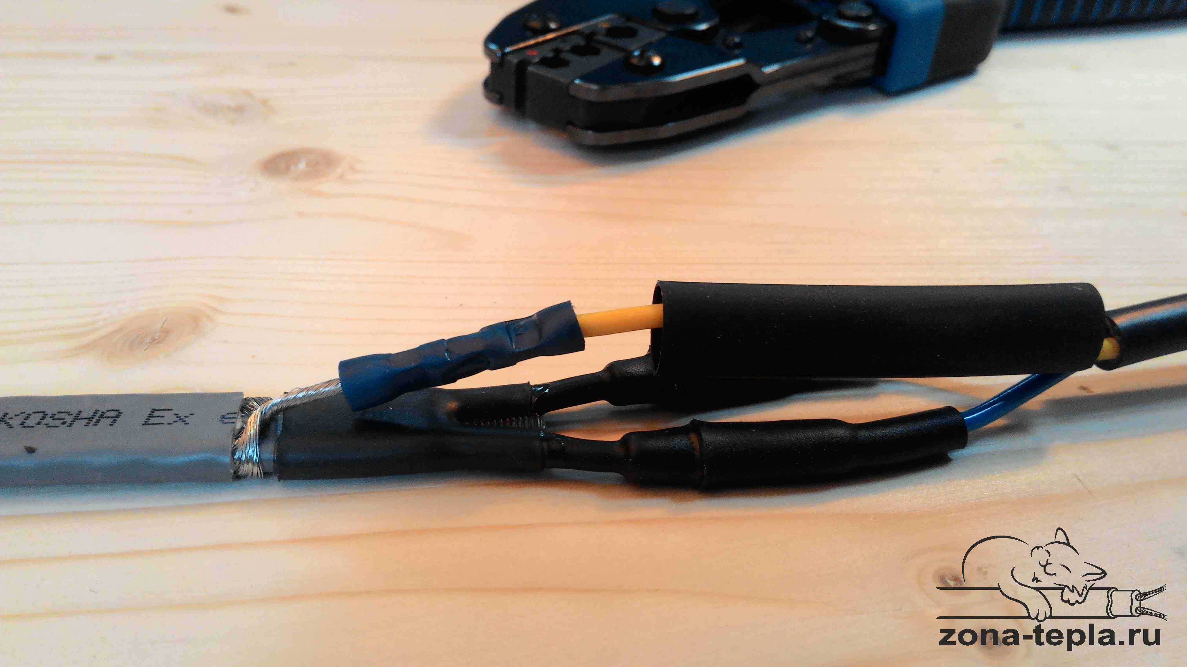 Инженерный кабель как сделать 345