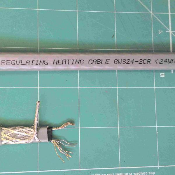 Греющий кабель саморегулирующийся Lavita GWS 24-2CR