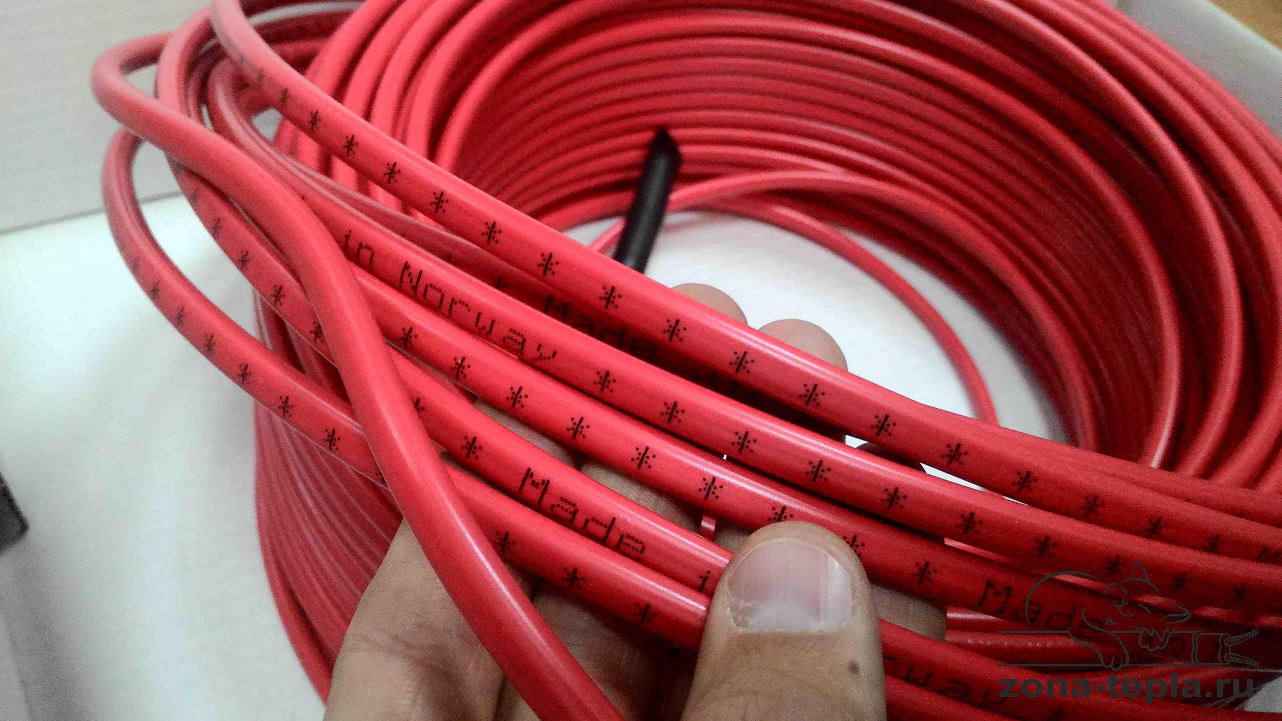 Греющий кабель NEXANS TXLP