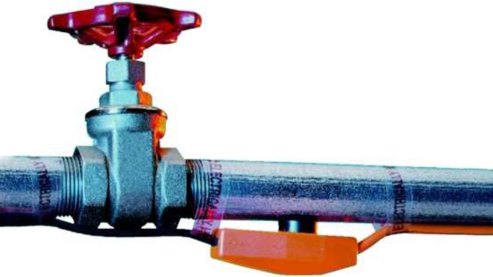 Как закрепитm терморегулятор на обогреваемой трубе