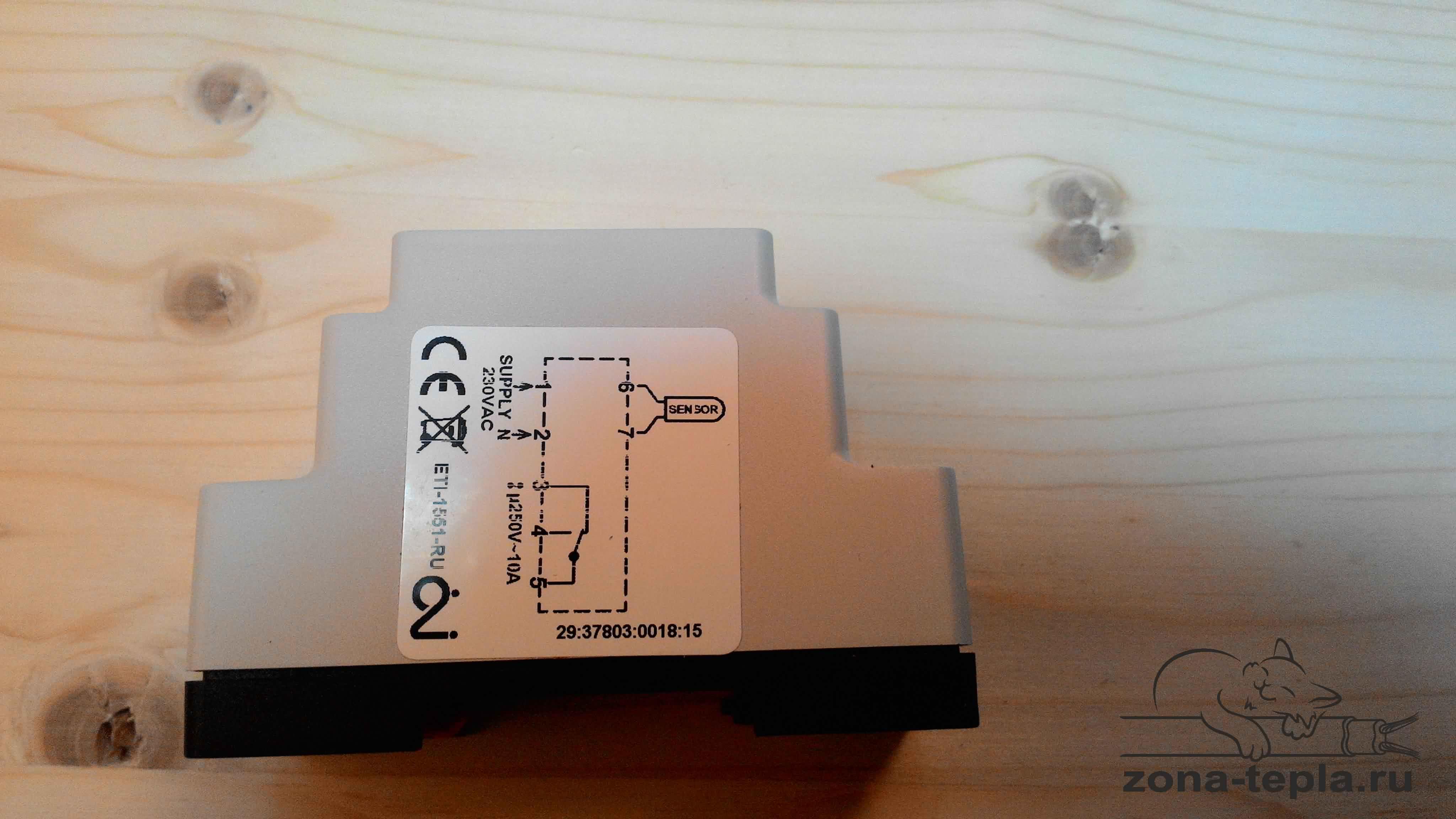 Терморегулятор промышленный ETI-1551