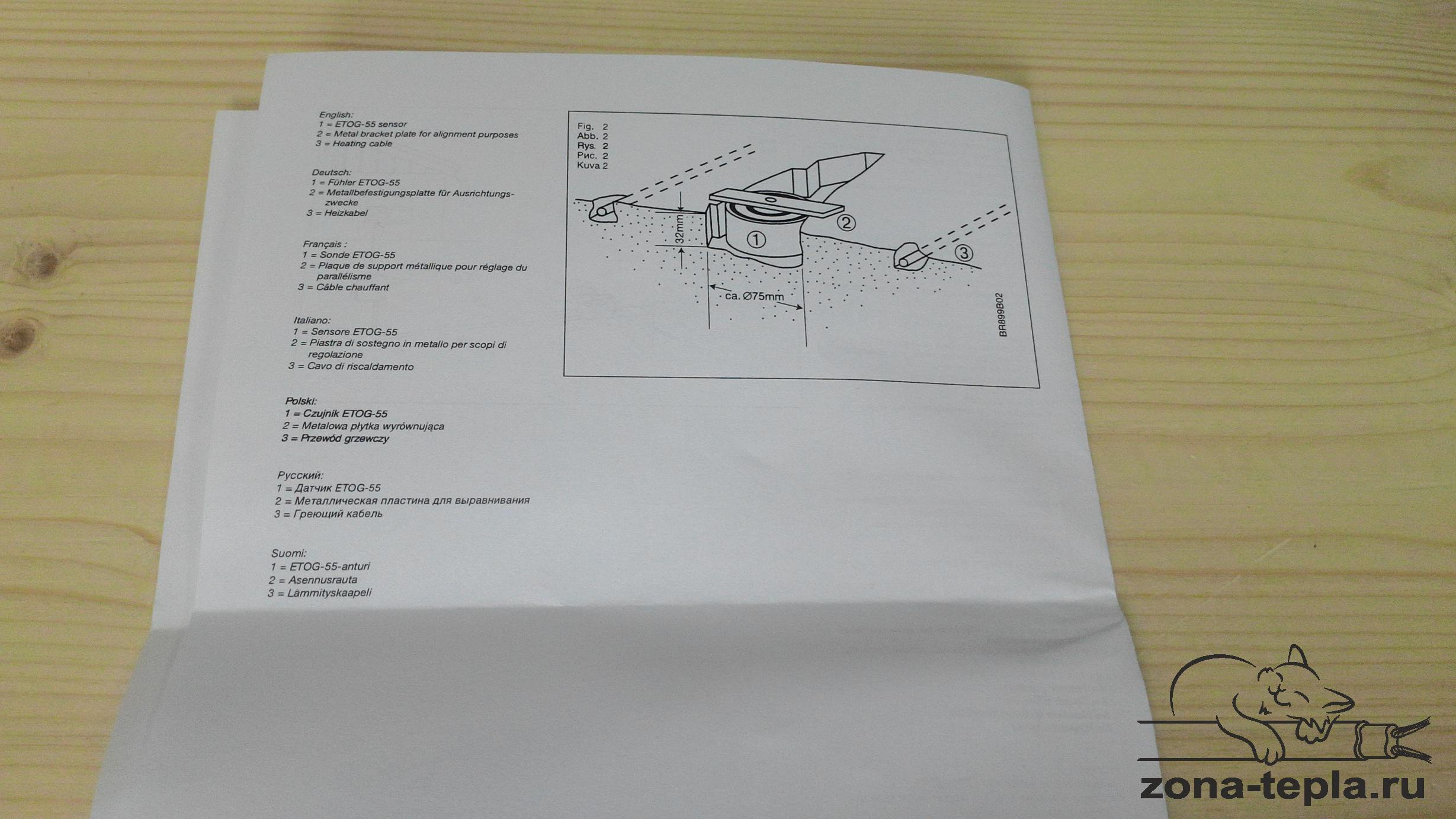 Датчик влажности и температуры для грунта ETOG-55 инструкция