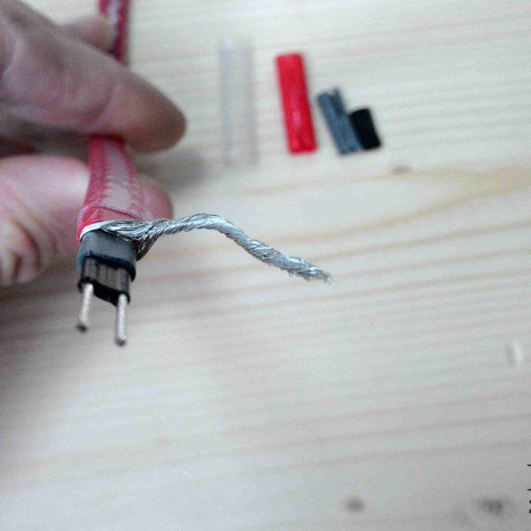 Греющий кабель внутри трубы 13MSH2-CR