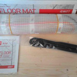 Маты для теплого пола iq watt floor mat