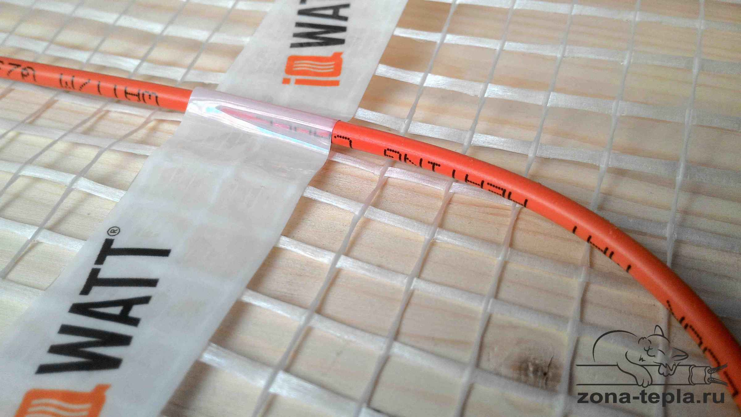 маты под теплый пол iq watt floor mat крепление на сетке