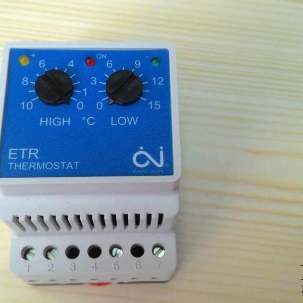 Терморегулятор для водостоков и кровли ETR-F 1447A