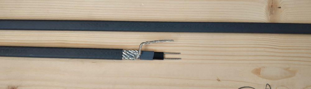 Греющий кабель для кровли и водостоков