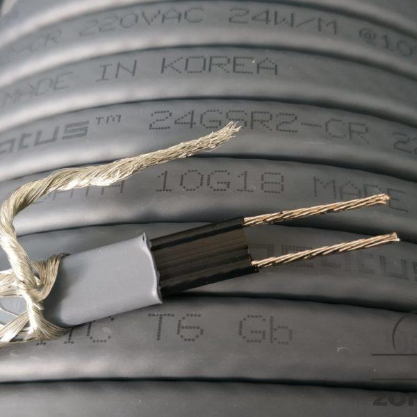 Саморегулирующийся кабель для труб 24gsr2-cr