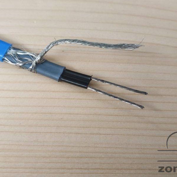 Греющий кабель внутрь бытового трубопровода