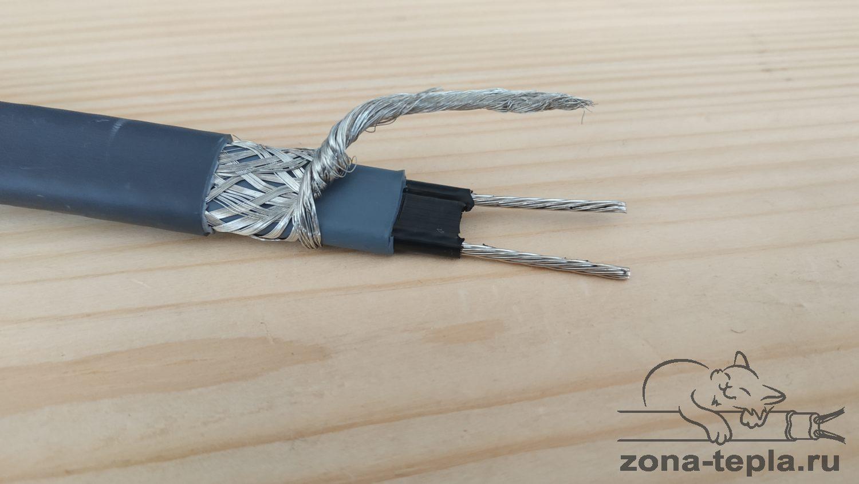 Нагревательный кабель Heatus 40gsr2-cr