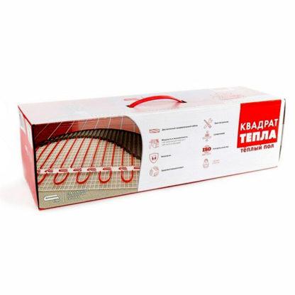 Коробка теплого пола на матах Квадрат тепла